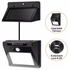 Sales Price Solar Light Waterproof Motion Sensor Wall Light With Separable Solar Panel And 8 Ft Extension Cords For Garden Patio Driveway Deck Stairs Intl