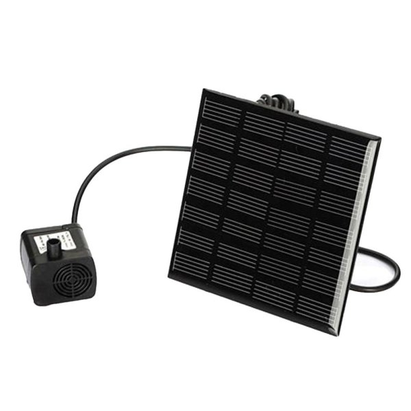 Solar Power Fountain Water Pump Panel Kit Pool Home Garden Fish Pond