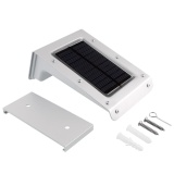 Discount Solar Powered 20 Led Waterproof Yard Motion Sensor Pir Security Light Intl