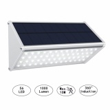 Buy Solar Powered Motion Lights Outdoor Security Wall Mounted Light With Motion Sensor 56 Led 1000 Lumen Aluminum Alloy Wireless Waterproof Lighting For Fence Garden Garage Stairs Intl Online