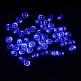 Sale Solar Powered Pvc Fairy Lights 10M 100 Led String Lights With 8 Lighting Modes For Outdoor Garden Partis Holiday Wedding Decoration Intl Online On China