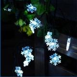 Solar String Lights 20 Led 15 Feet Snowflake Solar Powered String Lights White Intl Coupon Code