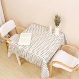 Brand New Solid Black Square Tablecloth Square Table Cloth Waterproof Pvc Table Cloth Japanese Style Square White Plastic Table Linen Mat