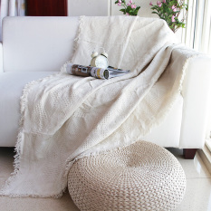 Buy Line Solid Color Blanket Non Slip Dustproof Cover Sofa Cover Cheap On China