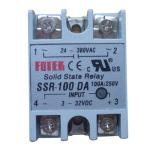 Cheap Solid State Relay Ssr 100 Da Dc Ac 100A 250V 3 32Vdc Input 24 380Vac Output