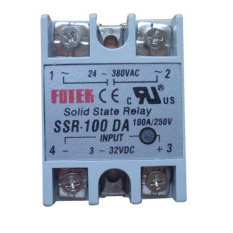 Review Solid State Relay Ssr 100 Da Dc Ac 100A 250V 3 32Vdc Input 24 380Vac Output Oem