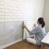 Low Price Soomj 3D Peel Stick Wallpaper Brick Design Sj Wd001 Intl