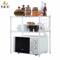 Discount Space Saving 3 Tier Baker S Rack Microwave Oven Rack Multifunctional Storage Shelving Umd Life Singapore