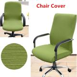 Buy Spandex Office Chair Cover Elastic Computer Chair Cover Dining Chair Washable Removable Rotating Chair Cover Green Black Flower S Size Cheap China