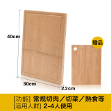 Cheaper Suncha Whole Panel Home Fruit Chop Meat Board Bamboo Cutting Board