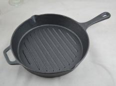 Sale Special Cast Iron Frying Pan Steak Frying Pan Flat Pot Pig Iron Frying Pan No Coating Diameter 29Cm To Send Gifts China