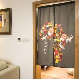 Cute Fabric Animal Geometric Door Curtain Partition Discount Code