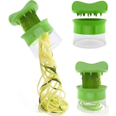 Spiral Noodles Zucchini Spaghetti Pasta Maker Vegetable Slicer Kitchen Tool - Intl By Bokeda Store.