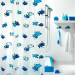 Get Cheap Spirella Cartoon Plastic Semi Transparent Waterproof Shower Curtain