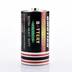 Sporter Stash Battery Shaped Secret Stash Box (Black)