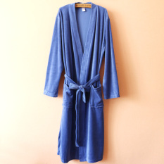 Sale Spring And Summer Thin Section Hotel Spa Cotton Velvet Bathrobe For Men And Women The Same Paragraph Nightgown Kimono Lace Bathrobe Oem On China