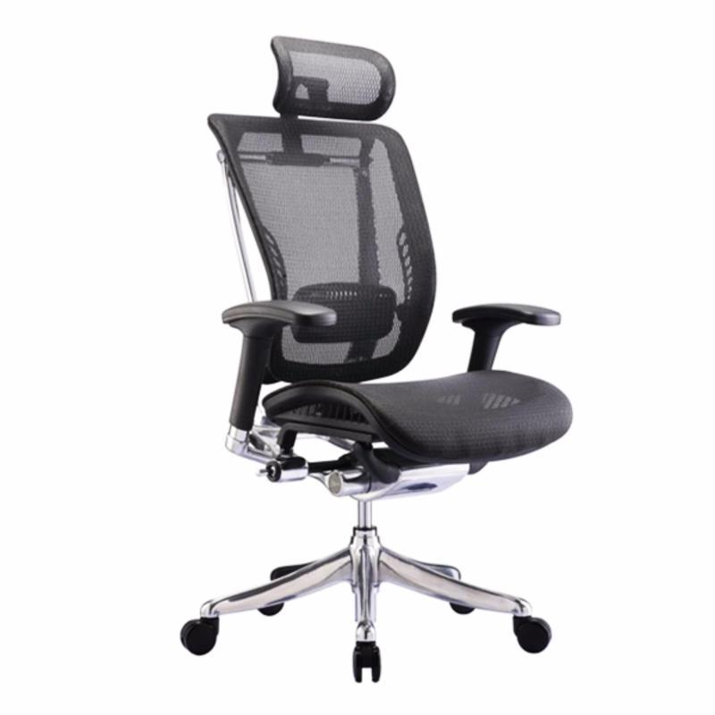 Spring Luxury Ergonomic Office Chair (Black) Singapore