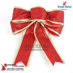 Spring Onions Powder Red Bowknot Christmas Decoration Supplies By Qiaosha.