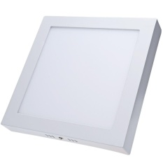 Square LED Panel Light 18W Surface Mounted Anti-fog Ceiling Lamp - intl