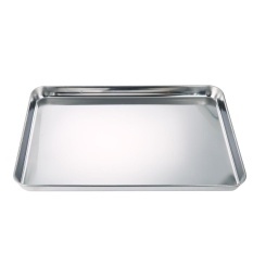Best Offer Square Pan Bakeware Oven Sheet Stainless Steel Heavy Baking Sheet Nonstick Cooking Pan Tray For Pizza Fries And Tater Tots Intl