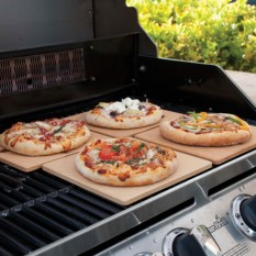Review Stabil Professional Ceramic Baking Stone Pizza Bread Pastry On Singapore