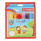 Buy Stabilo Swans Coloured Pencils Cheap On Singapore