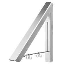Price Comparisons Of Stainless Folding Wall Hanger Mount Retractable Clothes Indoor Towel Hanger Rack Sliver Intl
