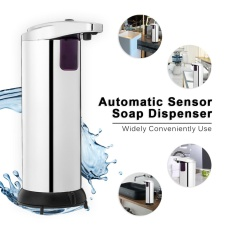 Discounted Stainless Steel Automatic Soap Dispenser 280Ml Stainless Steel Chrome Abs Intl