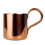 Stainless Steel Beer Cup Hammered Copper Mug Gold 500Ml Intl Best Price