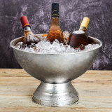 Top Rated Stainless Steel Champagne Basin Red Wine Large Ice Bucket
