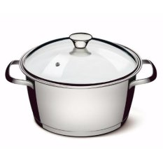 Tramontina Stainless Steel Deep Casserole With 3-Ply Base (20cm) (allegra) By Tramontina Singapore Pte Ltd.