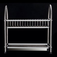 Buy Stainless Steel Dish Rack 45Cm 16 Plates Cheap Singapore