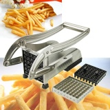 Low Cost Stainless Steel French Fry Cutter Potato Vegetable Slicer Chopper Dicer 2 Blade Intl