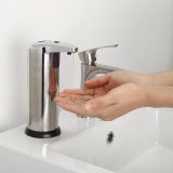 Where To Shop For Stainless Steel Handsfree Automatic Ir Sensor Touchless Soap Liquid Dispenser Intl