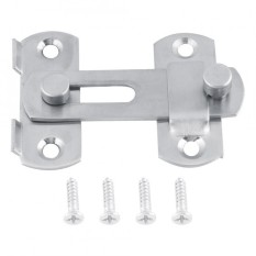 epayst Stainless Steel Hasp Latch Lock Sliding Door for Window Cabinet Fitting Room Accessorries - intl