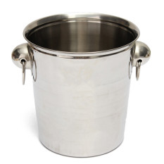 Cheaper Stainless Steel Ice Punch Bucket Wine Beer Cooler Champagne Juices Party 18 19Cm