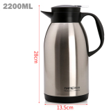 Best Buy Mimosifolia Stainless Steel Insulation Coffee Pots Home Living Kitchen Thermos High Capacity Insulation Water Bottles Tea Pots 2200Ml Character Intl
