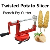 Stainless Steel Kitchen Gadgets Potato Apple Twisted Spiral Slicer French Fries Fruit Vegetable Cutter Intl Best Buy
