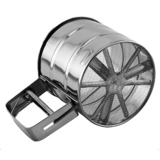 Stainless Steel Mesh Sugar Coffee Flour Shaker Sifter Sieve Tool Cup - Intl By Vococal Shop.