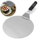 Stainless Steel Pizza Lifter Flipper Bbq Stone Oven Paddle Spatula Peel Tray Pan Intl Online