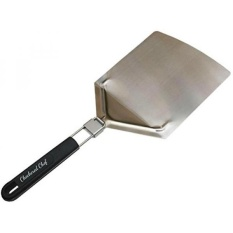 Stainless Steel Pizza Peel With Folding Handle Paddle Size 9 5 X 13 Inches Great For Baking Homemade Pizza And Bread Best Tool For Pizza Makers Outdoor Pizza Ovens And Barbecues Dishwasher Safe Intl South Korea