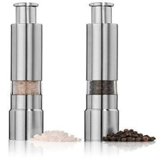 Price Stainless Steel Thumb Push Salt Pepper Spice Sauce Grinder Mill Export Intl Not Specified Original