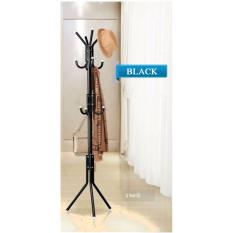 Standing Clothes Rack*Black Colour*Clothes Hanger*Garment Rack*Hanger Stand*Coat/Hat/Jacket*Tree Hooks Stand Pole