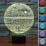 Review Star Ever 3D Star Wars Led Night 7 Color Change Touch Switch Table Desk Lamp Light Intl China