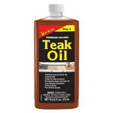 Starbrite Premium Golden Teak Oil 16 Fl Oz Step 3 Compare Prices
