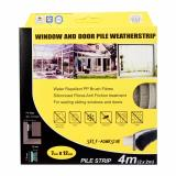 Top Rated Steve Leif Pile Weather Strips 7X12Mm Door Window Seals 4 Meters Grey
