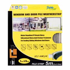Best Buy Steve Leif Pile Weatherstrip 7X6Mm Door Window Seals 5 Meters 2X2 5M