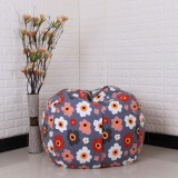 Buy Storage Kids Stuffed Animal Plush Toy Storage Bean Bag Soft Pouch Stripe Fabric Chair Re Foxloom Intl On China