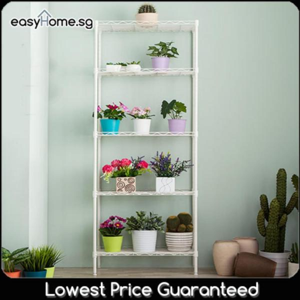 Storage Shelves XM233 - Kitchen / Home Organization Space Saving Rack