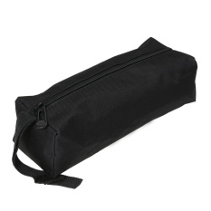 Uebfashion Storage Tools Bag Waterproof Multi-function for Small Metal Parts(Black) - intl